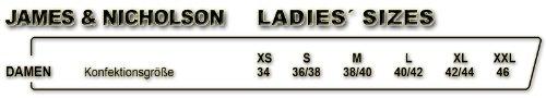 J & N–Chaqueta de mujer Outdoor Hybrid (jn1049) blanco