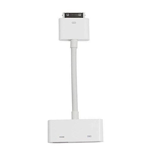 - Fivetech USA Digital AV 30-Pin to HDMI Adapter Cable for Apple iPad 2, 3 & iPhone 4, 4S