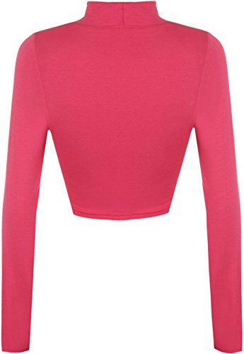 WearAll - Polo - Donna rosa rosso