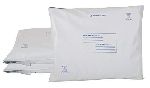 3 Pack Self-Expending Foam Insulated Mailers 12 x 14. Thermal Shipping Envelopes. Self Sealing Insulated Envelope for Fragile, perishable Items. Eco Friendly Solution for mailing, Shipping, Packing.