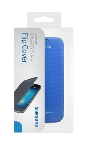 (Samsung Galaxy S4 Mini Flip Cover Folio Case - Light Blue)