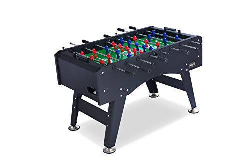 (KICK Foosball Table Topaz Black, 55 in)