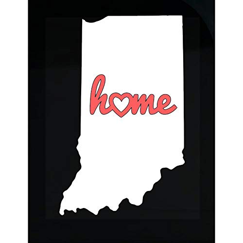 - Indiana is My Home USA State Pride - Transparent Sticker
