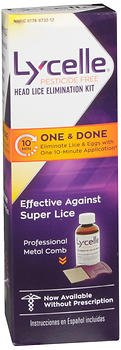 Lycelle Head Lice Elimination - 1 Kit, Pack of 5