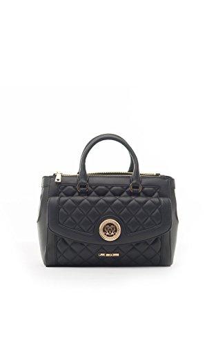 7486V borsa donna LOVE MOSCHINO ecopelle trapuntata eco leather black bag woman Nero