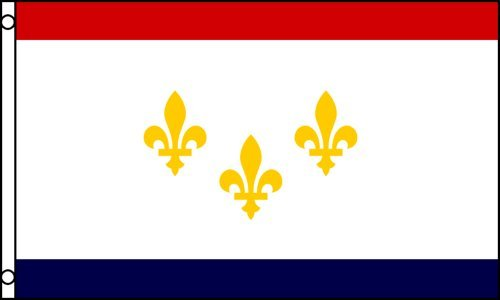 New Orleans Flag 3x5 ft Poly