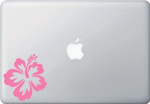 Hawaiian Hibiscus Flower - Macbook or Laptop Vinyl Decal