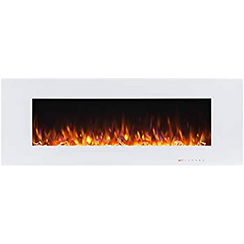 Astounding Amazon Com Electric Fireplace Wall Mounted Color Changing Download Free Architecture Designs Intelgarnamadebymaigaardcom