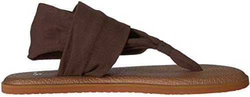 Yoga Bronze Women's Metallic Chocolate 2 Brown Sanuk LX Sandal Sling Metallic ARZg5q5