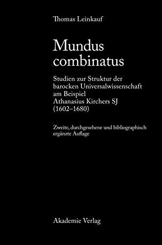Mundus Combinatus  [Leinkauf, Thomas] (Tapa Dura)