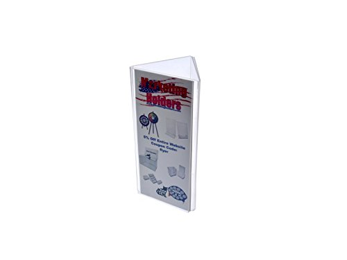 Marketing Holders Sign Holder Top Load Three Sided Table Tent Clear Acrylic (5, 4'' x 9'') by Marketing Holders