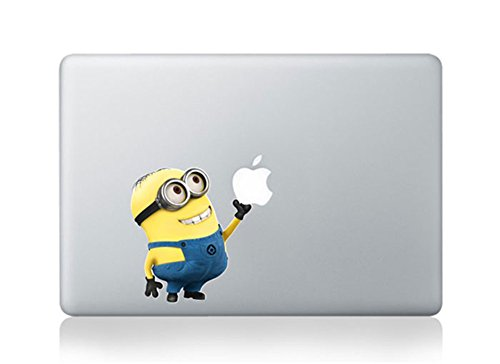 Minions Macbook Stickers Decal For Laptop Computer Wall Removable 3D Vinyl Pro Skin 13 15 inch