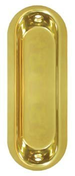 Deltana FP223CR003 Oblong Flush Pull