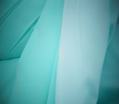 Bleached Aqua/Minty Aqua Reversible Comforter - Twin XL Twin Extra Long