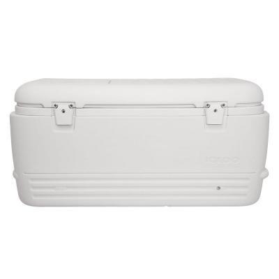 Split Lid - IGLOO Leak Resistant Odor Resistant Quick and Cool 100 Qt. Split-Lid Cooler