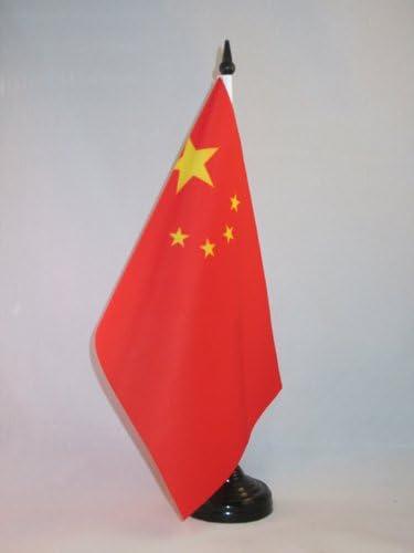 AZ FLAG Bandera de Mesa de China 21x14cm - BANDERINA de DESPACHO ...