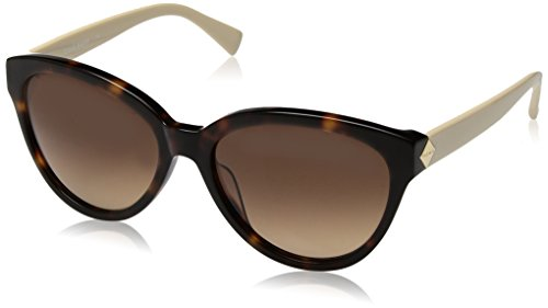 Cole Haan Women's Ch7002s Cateye Sunglasses, Soft Tortoise, 58 - Sunglasses Womens Cole Haan