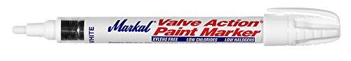 Long Nib Industrial Marker - Markal Valve Action Liquid Paint Marker with 1/8