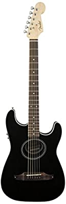 Fender Stratacoustic Acoustic Electric Guitar, Black from Fender Musical Instruments Corp.