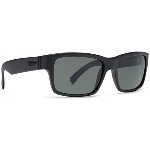 VonZipper Fulton Shift Into Neutral Square Sunglasses,S.I.N. & Black Satin,One - Optical Superstore Sunglasses