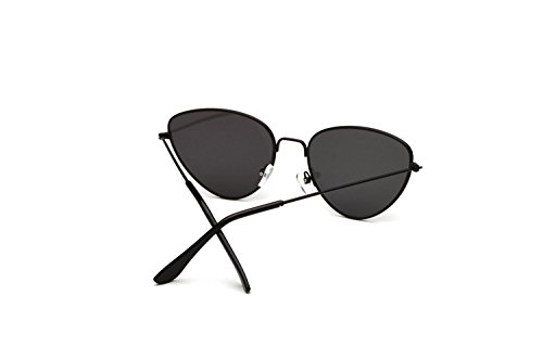 de Sol de Gafas New Gafas Europa Sol Street Shoot Hombre Metal 3 y Ms Cat Eyes de Color Trend América 6 Sol Outdoor para Gafas wq6T0Orqx