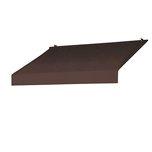 Sunsational Products Replacement Cover for Designer Window Awning - Cocoa - Size: 6' 3020873