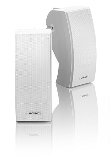 Bose 251 Wall Mount Outdoor Environmental Speakers (White) by Bose
