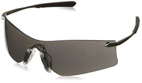 Crews T4112AF Rubicon Safety Glasses Grey, Lens Anti-fog Lens, 1 Pair by MCR Safety