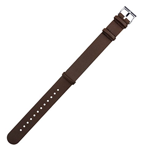 Barton Watch Bands Leather Nato Style Straps Choose Color