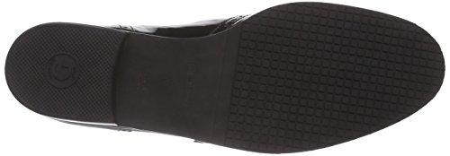 Gabor Gabor Basic - botas de cuero mujer Negro - Schwarz (schwarz (Fu rot) 87)