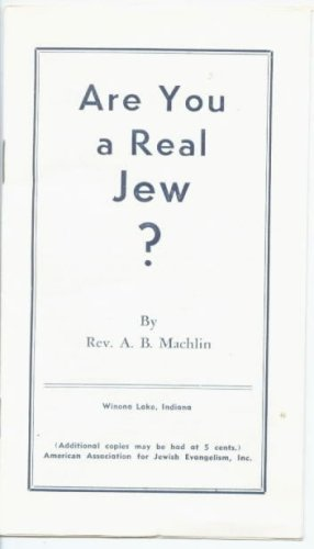 Are You a Real Jew? - Booklet