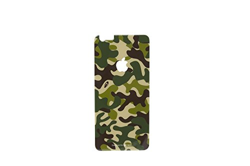 Deff Chemically Toughened Wild Design Type Back Side Glass Screen Protector for iPhone 6 (Camouflage / Woodland)