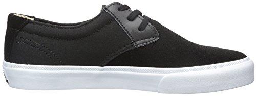 LAKAI Skateboard Shoes MJ BLACK SUEDE Black Suede hV5L1v