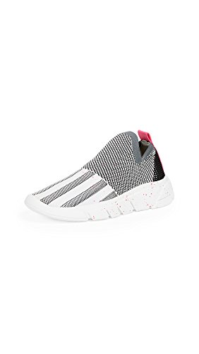 Kendall + Kylie Womens Caleb Sneaker Wit & Roze