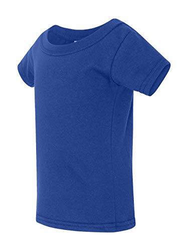 - Gildan Toddler Softstyle 45 oz T-Shirt - ROYAL - 5T - (Style # G645P - Original Label)