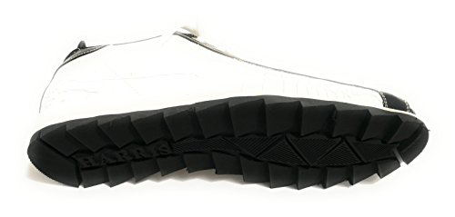 Harris Herren Sneaker Cocco Bianco/pitone Roccia/nero