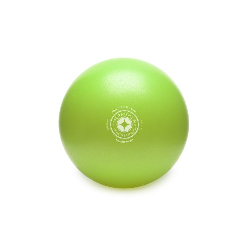 STOTT PILATES Mini Stability Ball (Lime), 10 Inch / 25 cm