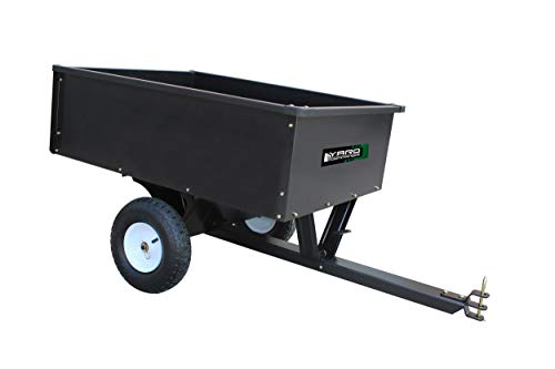 Yard Commander 10 Cubic Foot Steel Dump Cart