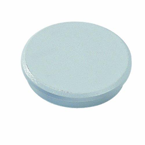 Dahle - Magneti, diametro: 24 mm, confezione da 10, colore: grigio 95524-21418