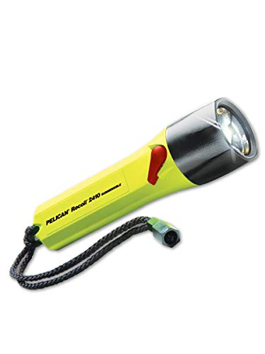 - Pelican 2410-014-245 StealthLite LED Flashlight, Standard, Yellow (Pack of 6)