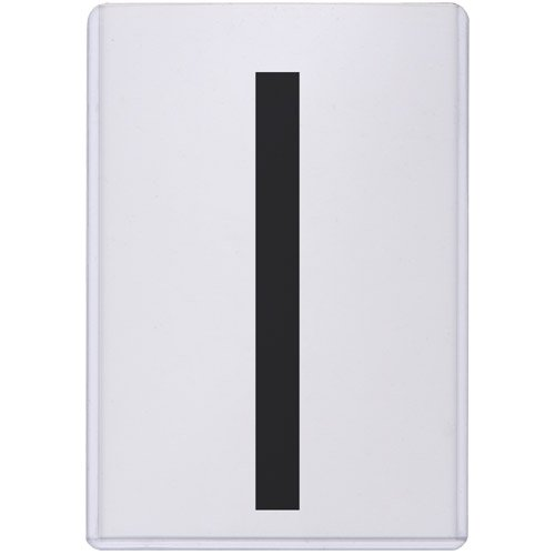 StoreSMART - Magnetic-Back Rigid Protectors 5-Pack - 4 x 6 - Clear Plastic Sign Holders - Refrigerator or Locker Magnet - Top Loaders - HPP4X6M-5