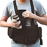 Newswear Mens Digital Chestvest, Digital SLR Camera & Lens Carry System, Black.