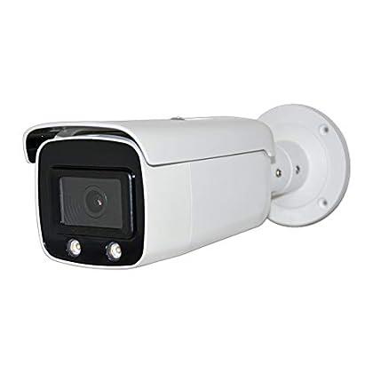 Image of 4MP 2K Full Color Bullet PoE IP Camera OEM DS-2CD2T47G1-L 4mm Fixed Lens, Turret Security Camera, Night Vision, Smart H.265+, SD Card Slot, WDR DNR, IP67, ONVIF Bullet Cameras