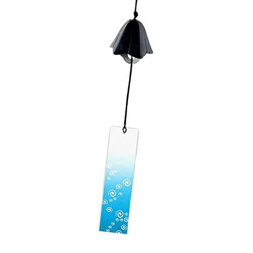 Baoblaze Traditional Japanese Iwachu Cast Iron Bell Wind Chimes Patio Decoration - 14