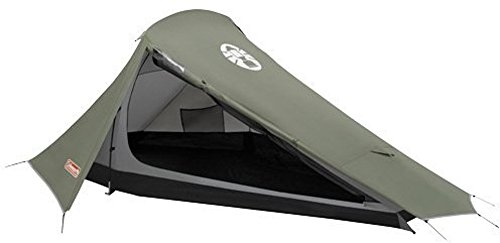 Coleman Zelt Bedrock 2, 2 Personen Zelt für Trekkingtouren, Camping oder Festivals, kleines Packmaß, passt in einen…