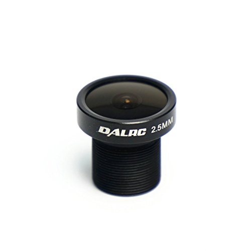 E-accexpert 2.5mm FPV Lens 120° Wide-angle Lens for CCD Camera