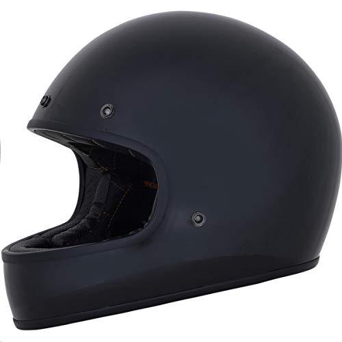 AFX FX-78 Vintage Solid Helmet Gloss Black (Black, XX-Large)