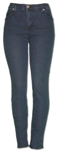TrueSlim Jeans contrast Stitch Jeggings 6 Indigo - Contrast Stitch Jeans