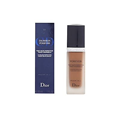 Christian Dior Skin Forever Flawless Perfection SPF 25 Fusion Wear Foundation Makeup, No. 050 Dark Beige, 1 Ounce