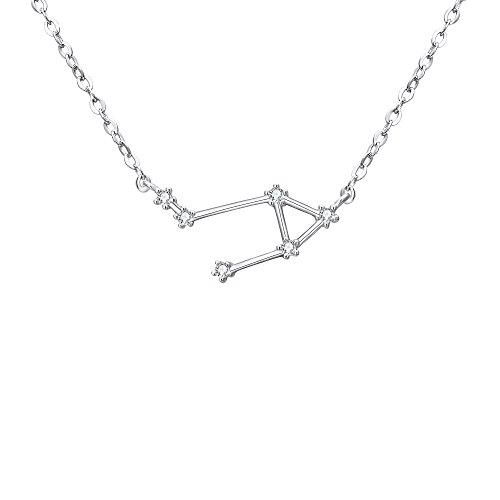 BriLove 925 Sterling Silver Necklace -